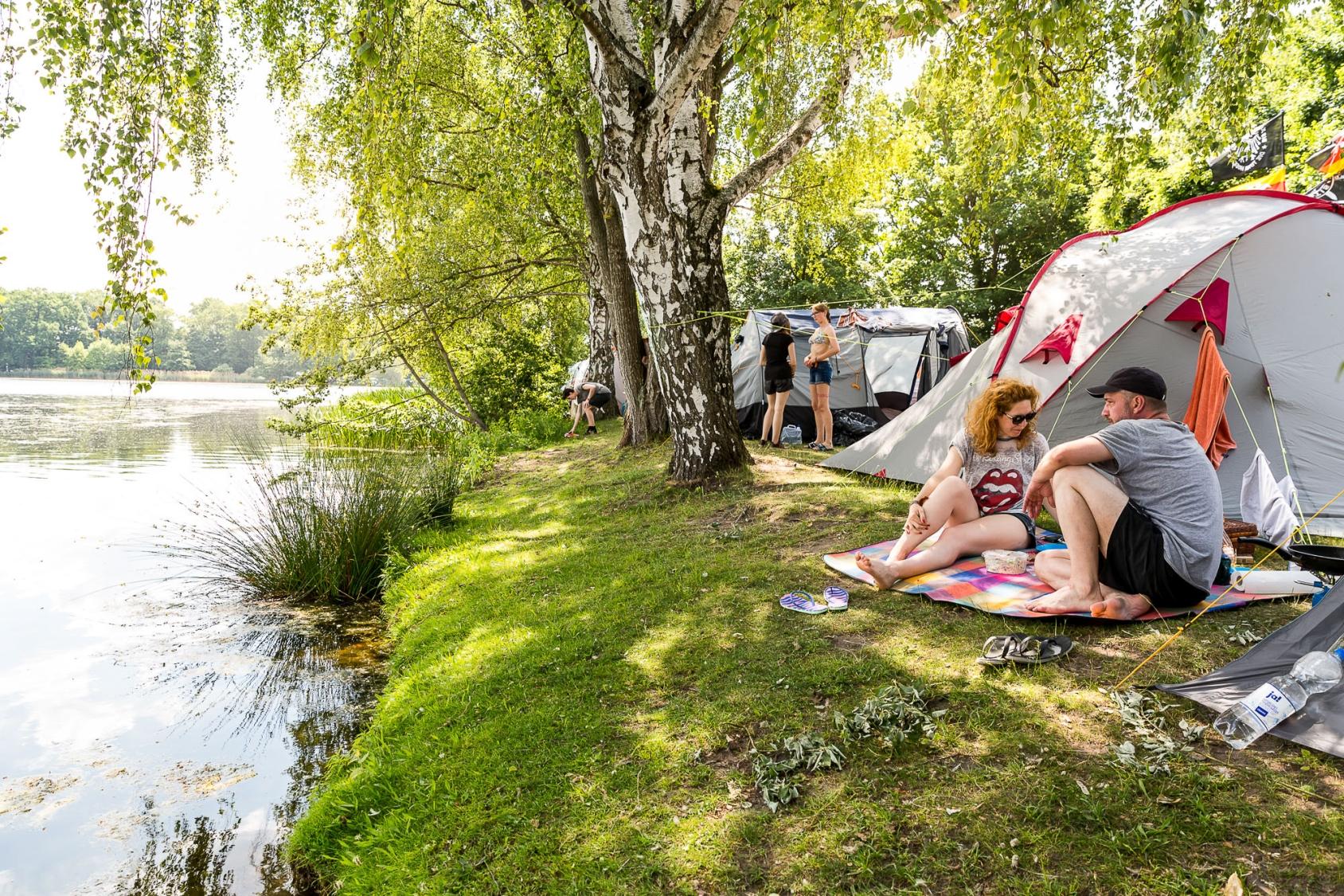 Green Camping - Rock im Park 2020
