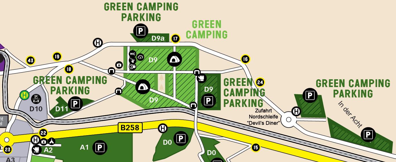 Rock Am Ring Green Camping 2021