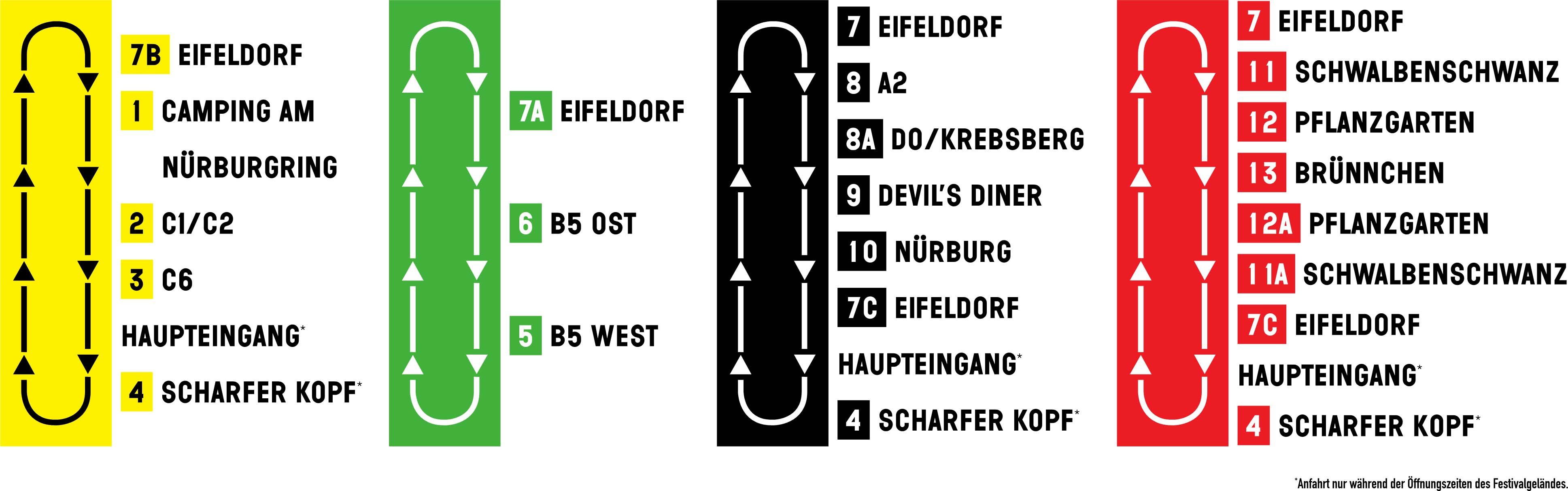 Rock Am Ring Karte.Shuttlebusse Rock Am Ring 2020