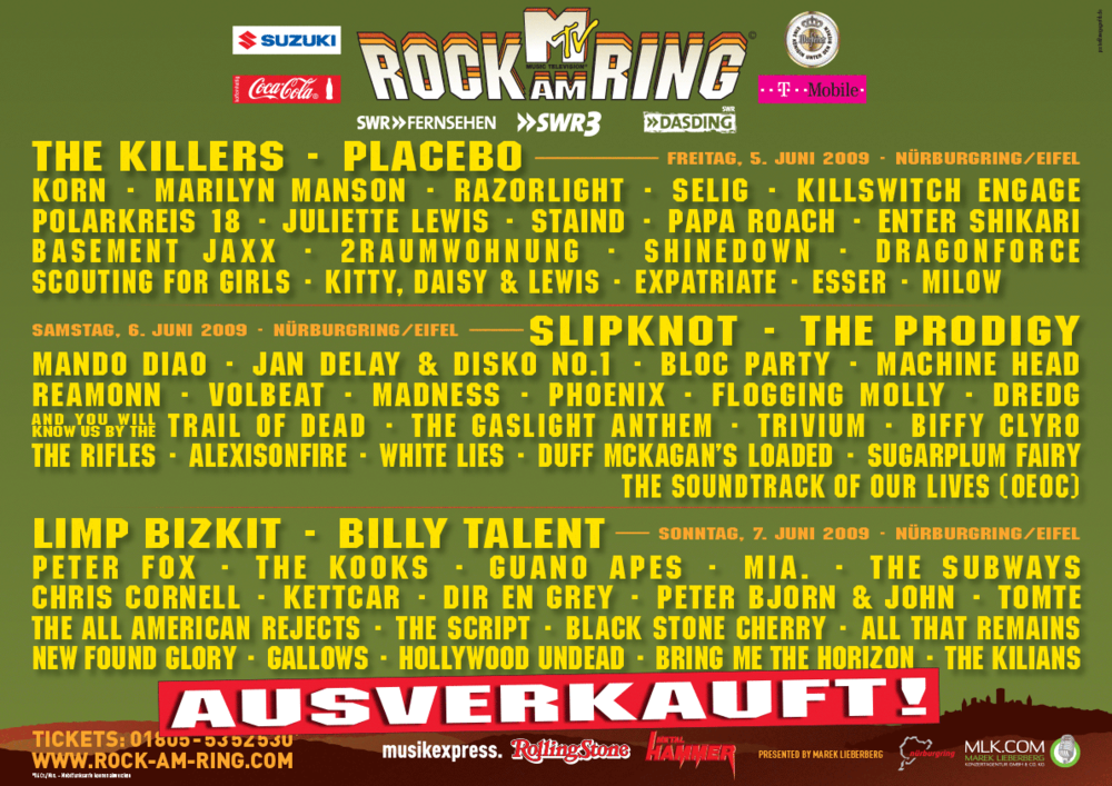 History Rock Am Ring 2020