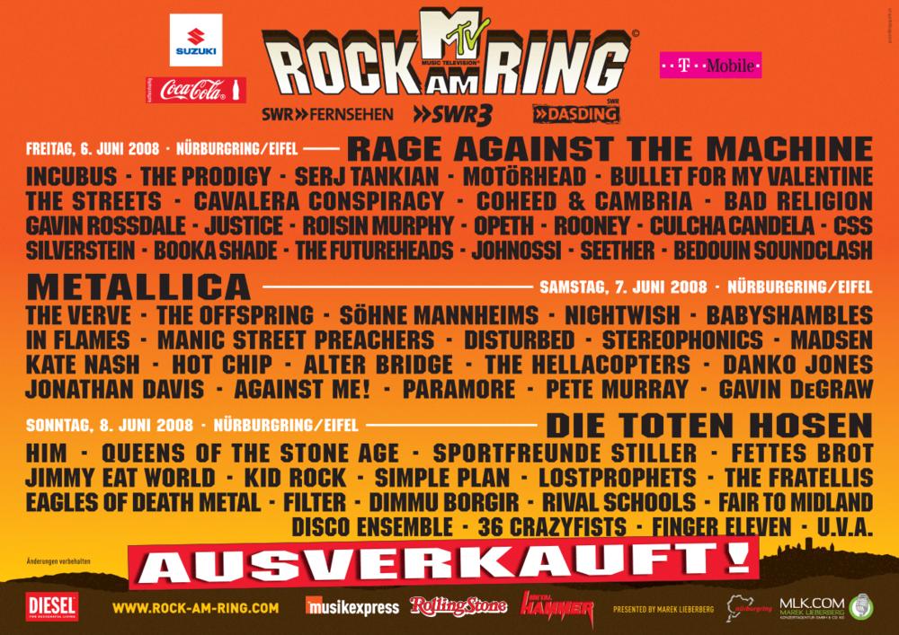 Rock Am Ring 2021 Im Fernsehen