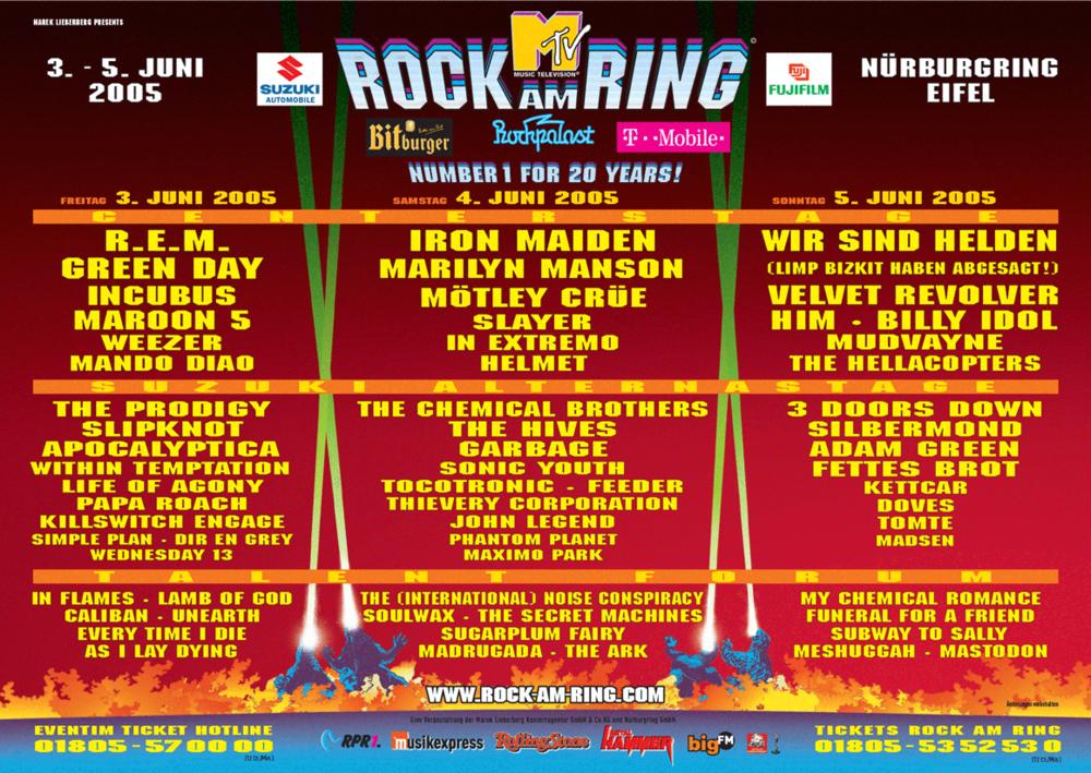 history rock am ring 2019