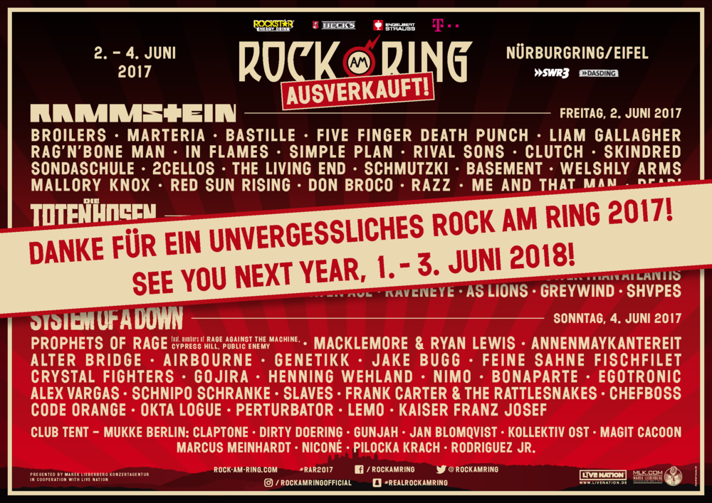 History Rock Am Ring 2017 Autos Post