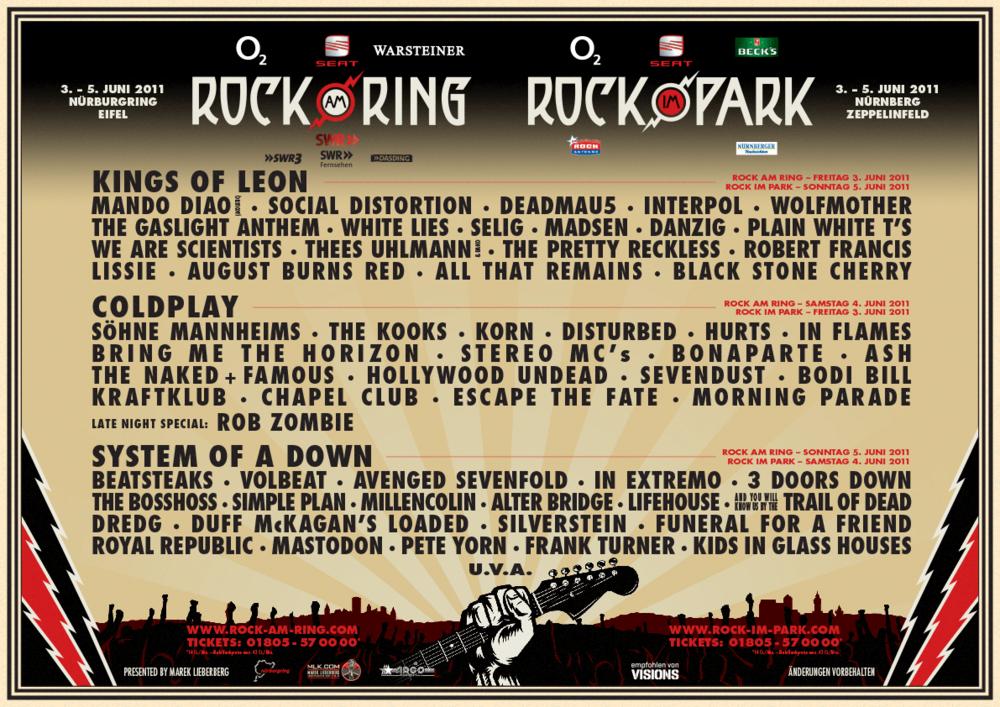 rock im pott line up 2019